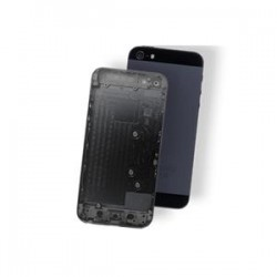 BACK COVER IPHONE 5 NERO