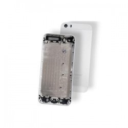 BACK COVER IPHONE 5S SILVER