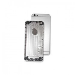 BACK COVER IPHONE 6 PLUS SILVER AAA