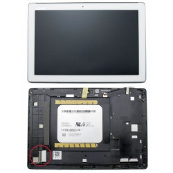 DISPLAY ASUS ZENPAD 10 Z300C BIANCO CON FRAME